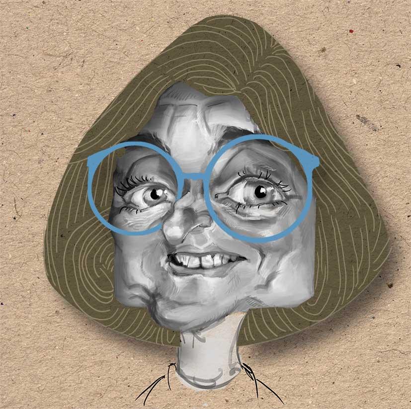 Karikatur Agnes