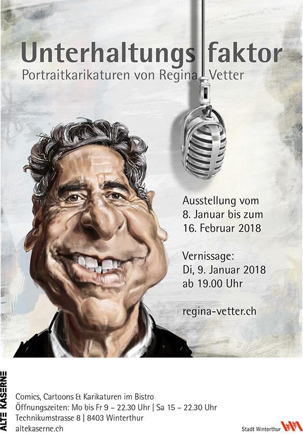 Ausstellung Karikaturen 2018
