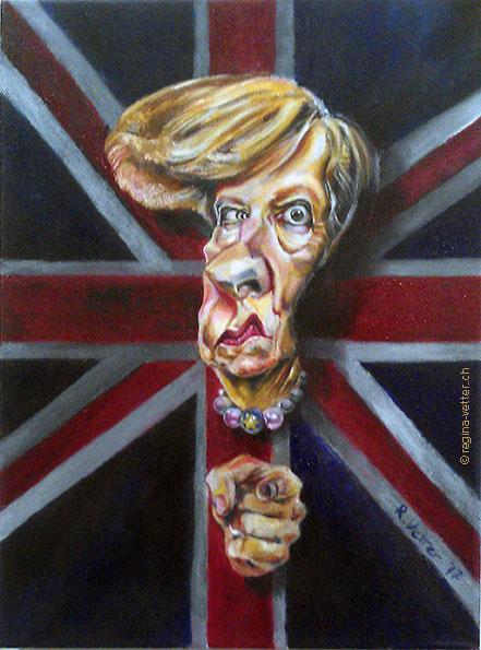 Quo vadis, Brexit, Karikatur