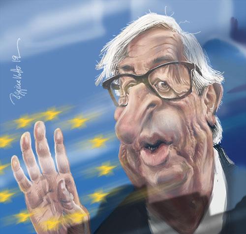 Jean-Claude Juncker von Regina vetter