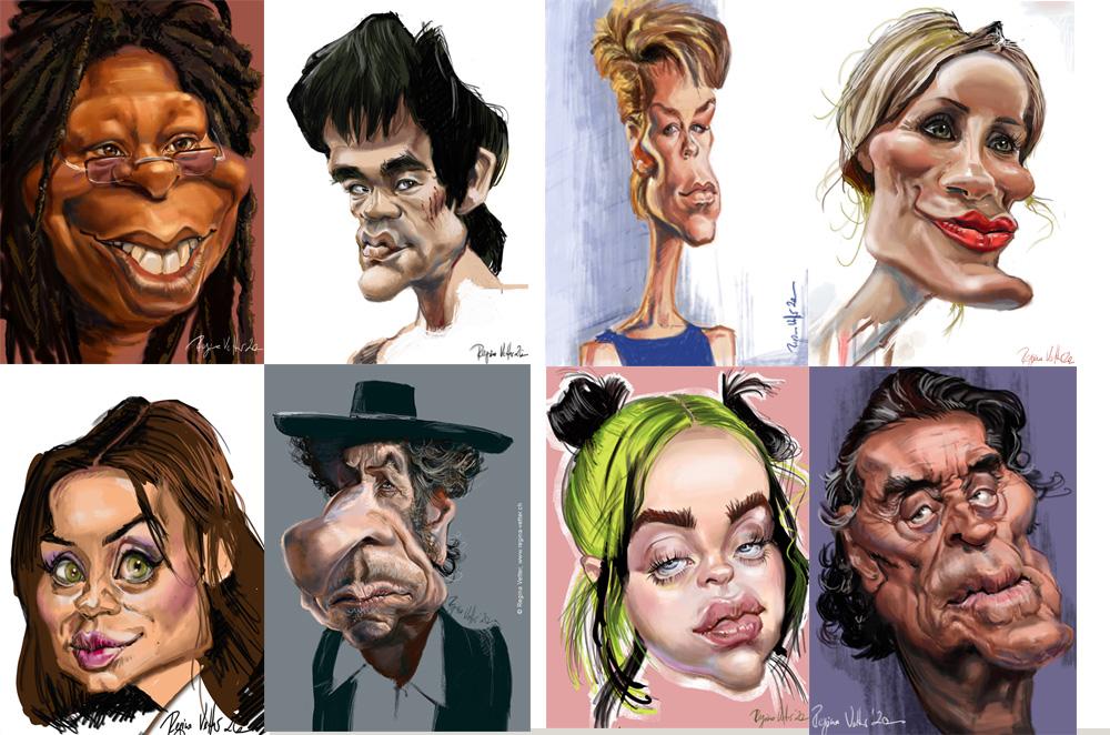 Karikaturen März 20 von Regina Vetter