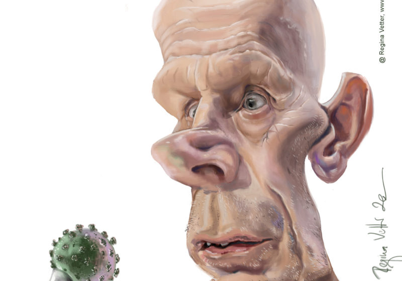 Karikatur Daniel Koch