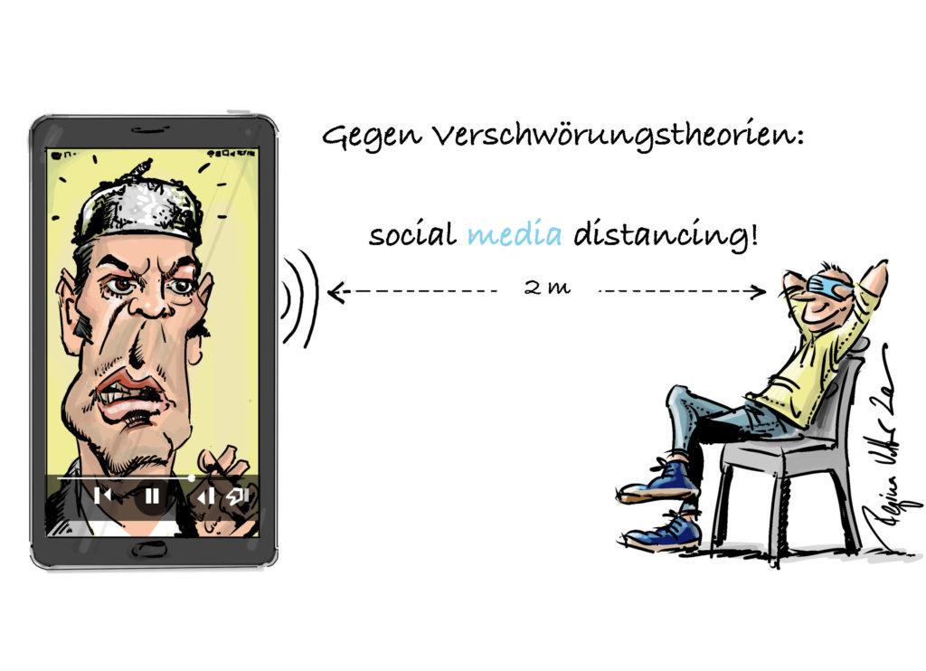 Social media Distance
